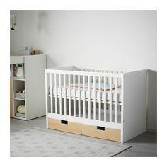 Babyzimmer möbel ikea  SUNDVIK Łóżko dziecięce, biały | Babyzimmer, Möbel und Ideen