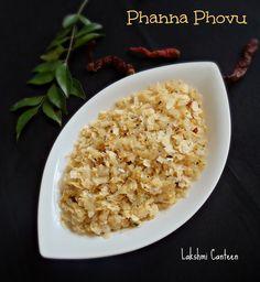 Dadpe Pohe - Lakshmi Canteen: Phanna Phovu (Seasoned Flattened Rice)