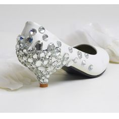 low heel shoes   Photo Gallery of the Comfortable Low Heel Wedding Shoes
