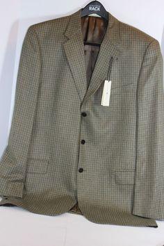 Fioravanti Couture Brown 100% Cashmere Blazer Sport Coat Jacket ...