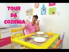 Tour Pela Cozinha Colorida - YouTube