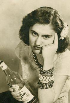 The Hangover Garrett & Co Virginia Dare Wine Vintage Photograph