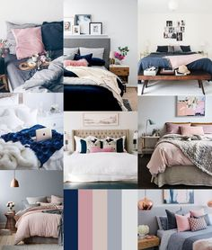 Image result for Grey and navy bedroom