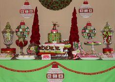 Reindeer dessert table