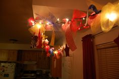 Party garland #garland #jessie party #lighted garland #party