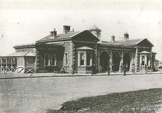 Goulburn Railway Station 1879