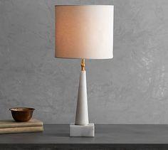 Jayce Marble Lamp #potterybarn