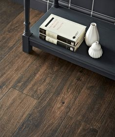 Crafted from hassle free porcelain, the Tabula™ chocolate tile mimics the grainy, textured look of real wood and comes in a deep brown hue with a matt finish. Wood Effect Floor Tiles, Ceramic Floor Tiles, Wall Tiles, Porcelain Tile, Topps Tiles, Jewel Tone Colors, Adhesive Tiles, Art Deco Home, Underfloor Heating