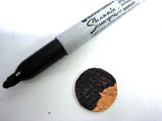 Make and Take project:  Fire Patina copper earrings These earrings were made by guests in my studio on one ...