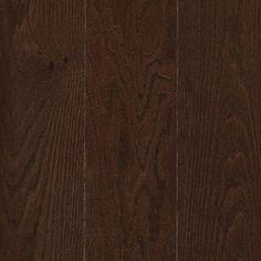 allen + roth 5-in W Prefinished Oak Hardwood Flooring (Chocolate) $5.99