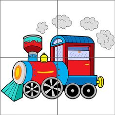 Illustration about Steam locomotive on white background - vector illustration. Illustration of draw, drawing, colors - 8690090 Montessori Activities, Preschool Worksheets, Learning Activities, Preschool Activities, Train Clipart, Vector Clipart, Vector Stock, Train Cartoon, Transportation Activities