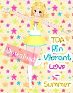 TDA Rin Vibrant Love - Summer Download by Yuu2002.deviantart.com on @DeviantArt