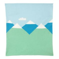 mountain peaks baby blanket donna wilson - Google Search