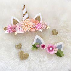 Corona de flor de unicornio / unicorn se venda de mina