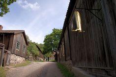 vanha käsityöläisalue, Turku Finland