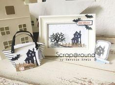 Stampin' Up! Inspiration & Art BlogHop - Halloween Deko