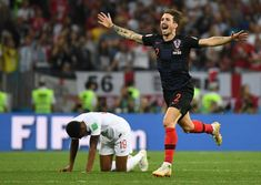 Croatia Digs Deeper, Burying England's World Cup Dreams - The New York Times