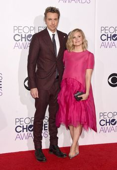 Pin for Later: Seht alle Stars aus Film und Fernsehen bei den People's Choice Awards Kristen Bell und Dax Shepard