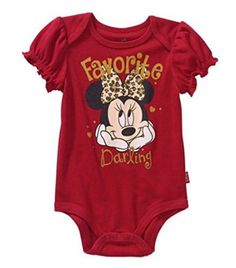 Disney Store Minnie Mouse Mouseketeer Baby Bodysuit Outfit Size 3-6M 12-18M