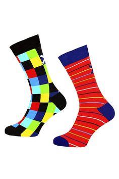 Muchachomalo sokken voor jongens Superstition, rood