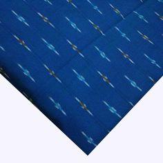 Textile Prints, Textiles, Ikat Print, Ikat Fabric, Colourful Outfits, Cobalt Blue, Dress Making, Color, Colour