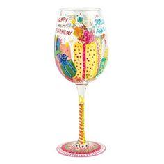 Lolita Beautiful Birthday Wine Glass