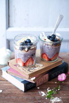 Wie macht man Porridge? Haferbrei Ideen und ein Rezept für...