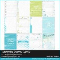 Tidewater Journal Cards