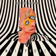 """The artwork for the album """"Melophobia"""" by the band Cage The Elephant was created by artist and graphic designer R Clint Colburn. Cool Album Covers, Album Cover Design, Music Album Covers, Music Albums, Collage Mural, Photo Wall Collage, Cage The Elephant Album, Cover Art, Pochette Album"""