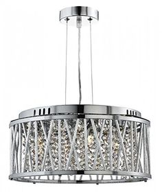 Searchlight Rojavita 4 Flush or Pendant Ceiling Light (chrome, 8334-4CC), http://www.amazon.co.uk/dp/B00TG1PBTY/ref=cm_sw_r_pi_awdl_0a3vvb0F37NC8