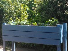 03. Hand-made Raised Wooden Planter for growing Vegetables or Ornamental Plants 1400 mm x 600 mm x 450 mm - Painted and Uncapped on Etsy, $406.78