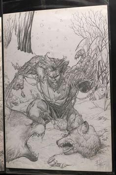 Wolverine by Rahmat Handoko