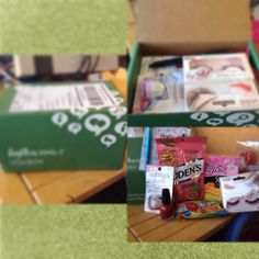 My deans list influenster voxbox :D and what I got!