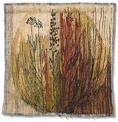 Herbs - fiber / textile art - Hanna Czajkowska - wool, linen and sisal