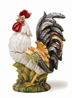 1000 images about rooster cookie jars on pinterest cookie jars roosters and hen house - Ceramic rooster cookie jar ...