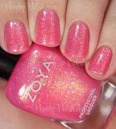 Harper zoya: summer 2014 tickled and bubbly collection swatc Diy Nails, Cute Nails, Pretty Nails, Glitter Nails, Glitter Eyeshadow, Eyeshadow Palette, Zoya Nail Polish, Nail Polish Colors, Nail Polishes