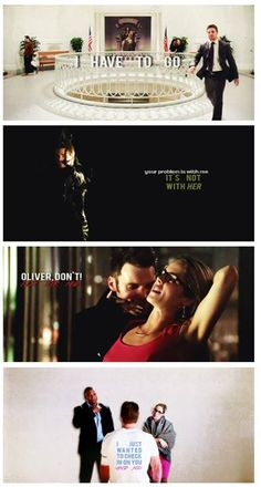 Arrow - Felicity and Oliver #2.7 #Season2 #Olicity ♥