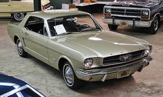 1965 Ford Mustang - My first car was a 1965 Mustang that looked just like this one. I was 22 and had just learned to drive, in 1974.