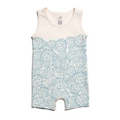 Limited edition organic baby romper from @Joy Cho / Oh Joy! and Winter Water Factory.