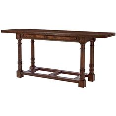 Tri fold console table kirklands living room pinterest tri bernhardt commonwealth drop leaf console table bn 334 916 watchthetrailerfo