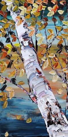40 Artistic Abstract Painting Ideas for Beginners Oil Painting oil painting for beginners Oil Painting Trees, Painting & Drawing, Paintings Of Trees, Autumn Painting, Painting People, Portrait Paintings, Painting Flowers, Painting Canvas, Beginner Painting