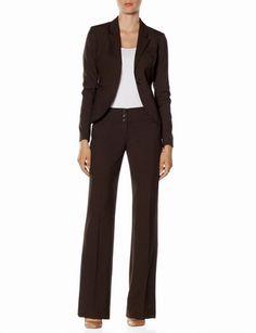 Brown Suit from Burlington Coat Factory
