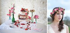 An English, Summer Berries Styled Shoot