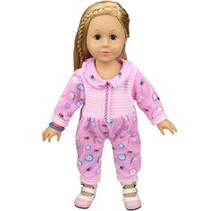 """Pink Shoes with Bow Clothes Accessory for 18/"""" Girl Doll Journey Dolls !NJ"""