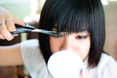 How to Cut Your Own Bangs in 12 Steps