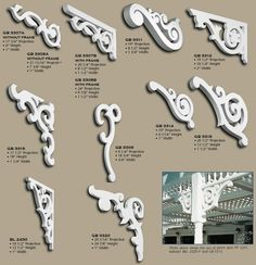 Some fun victorian fretwork brackets...good site with authentic nola reproductions...bit expensive though