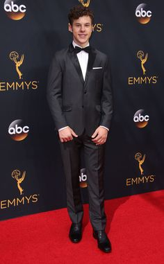 Nolan Gould from 2016 Emmys Red Carpet Arrivals  In Ted Baker