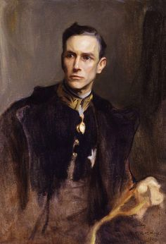 blastedheath: tender-isthe-night Philip de László (British, born Hungary, 1869-1937), John Loader Maffey, 1st Baron Rugby, 1923. Oil on canvas, 98 x 67.2 cm. National Portrait Gallery, London.