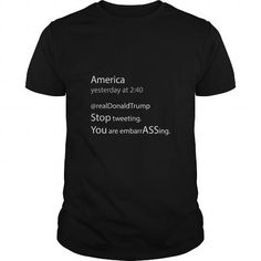 Cool Donald Trump tweeting disaster SHIRT T shirts