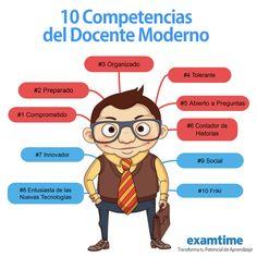 Las 10 Competencias del Docente Moderno | Pedagogía - didáctica | Scoop.it